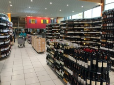 a 1/4 of the wine isle